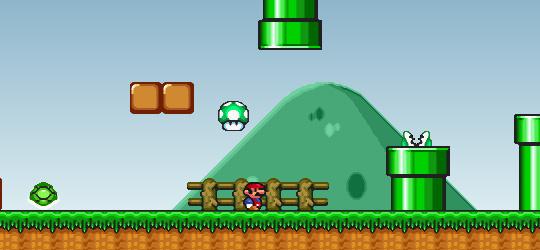 Mario gets a life