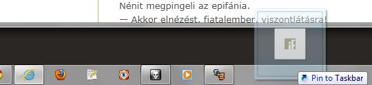 Internet Explorer 9 beta - Taskbar integration