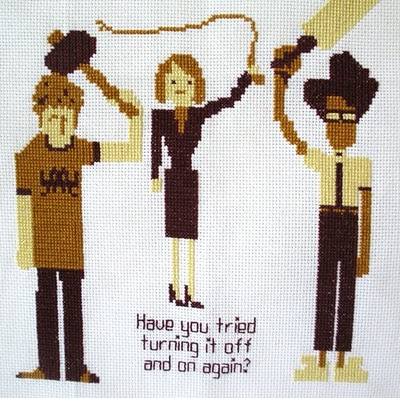 IT Crowd Embroidery