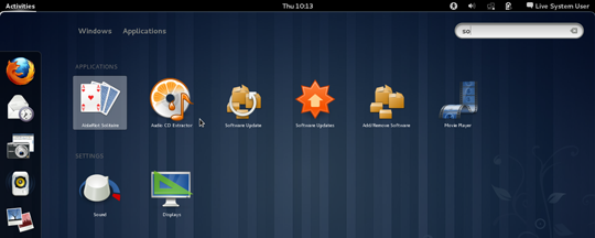Gnome Shell - Search