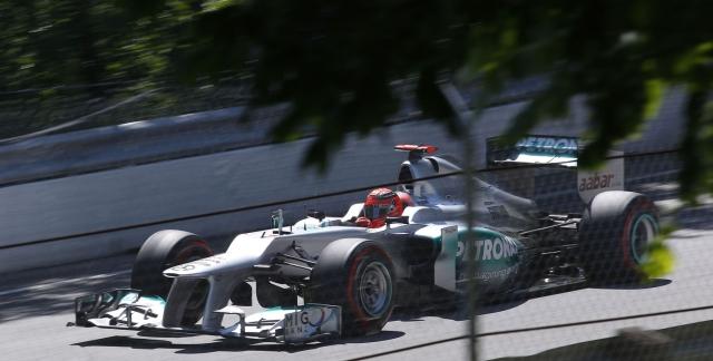 Michael Schumacer, Circuit de Gilles Villeneuve, Canada, 2012