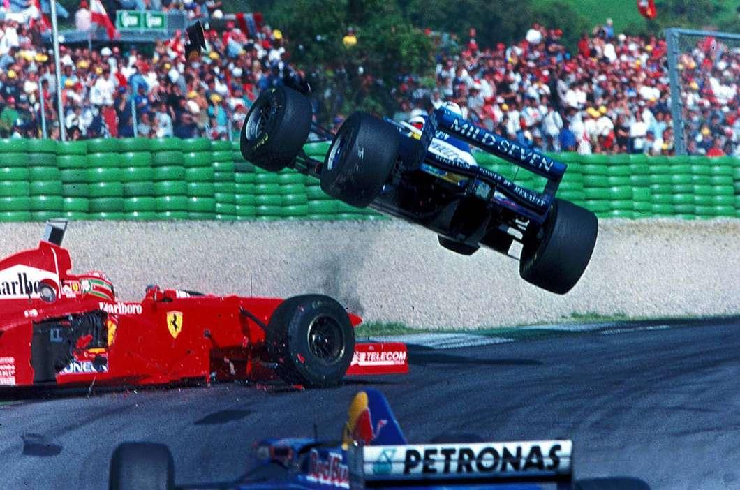 Eddie Irvine vs Jean Alesi, A1-Ring, Austria, 1997