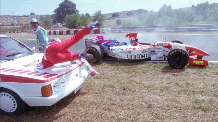 Taki Inoue, Footwork Hart, 1995, Hungaroring, Hungary
