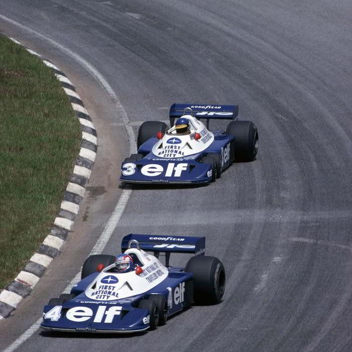 Tyrrell P34B, Ronnie Peterson, Patrick Depailler, Brazil, 1977