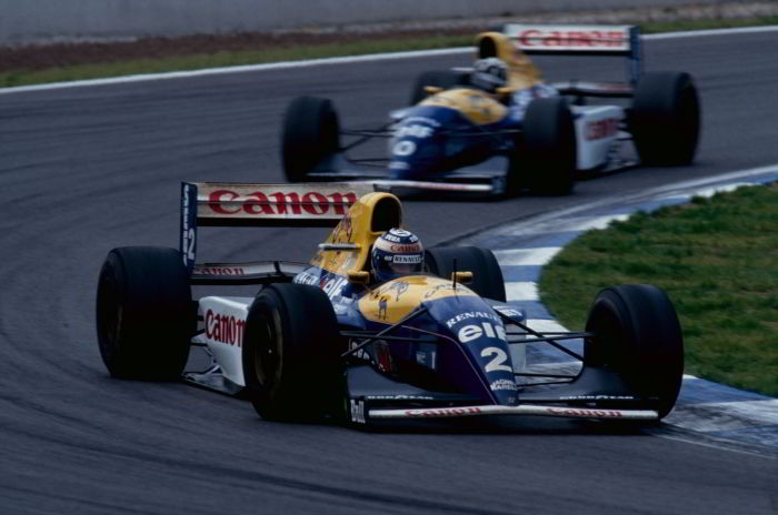 Alain Prost, Damon Hill, Williams FW15C, 1993