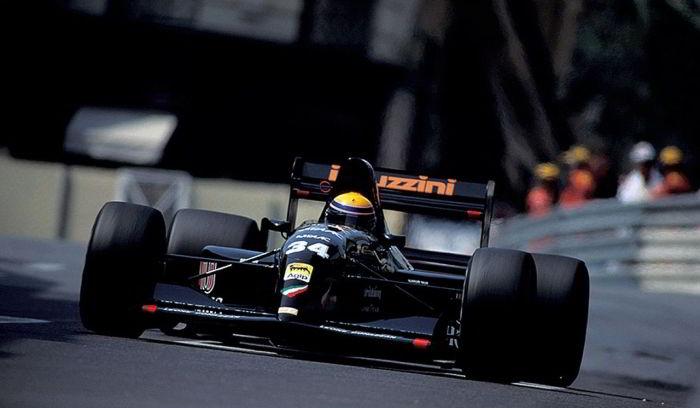 Roberto Moreno, Andrea Moda S921, Monaco, 1992