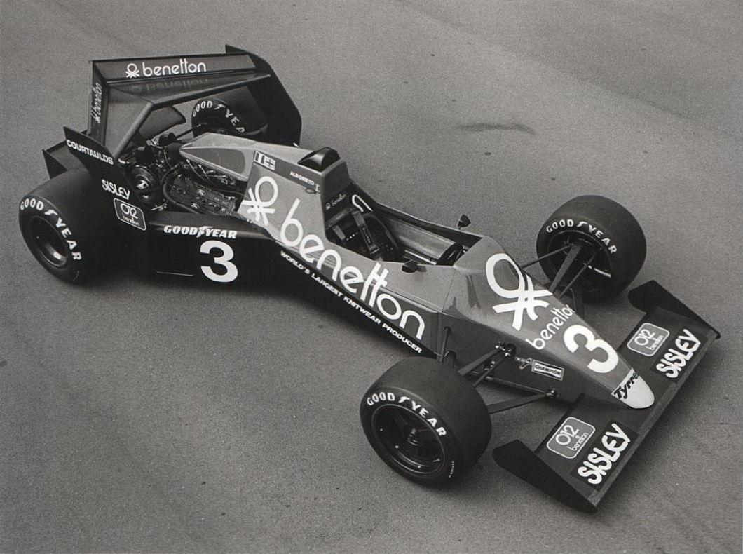 Tyrrell 012, Michele Alboreto