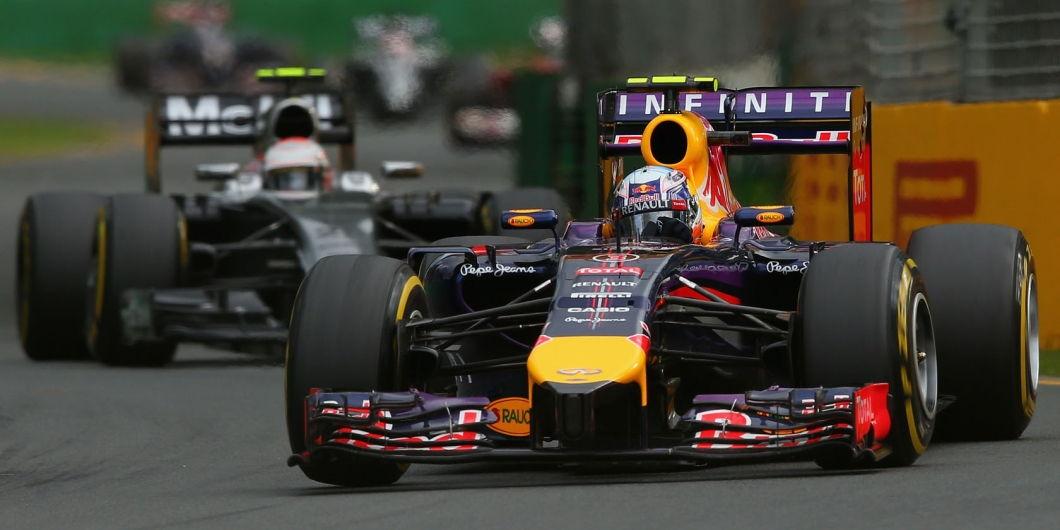 Daniel Ricciardo, Kevin Magnussen, Melbourne, Australian GP, 2014
