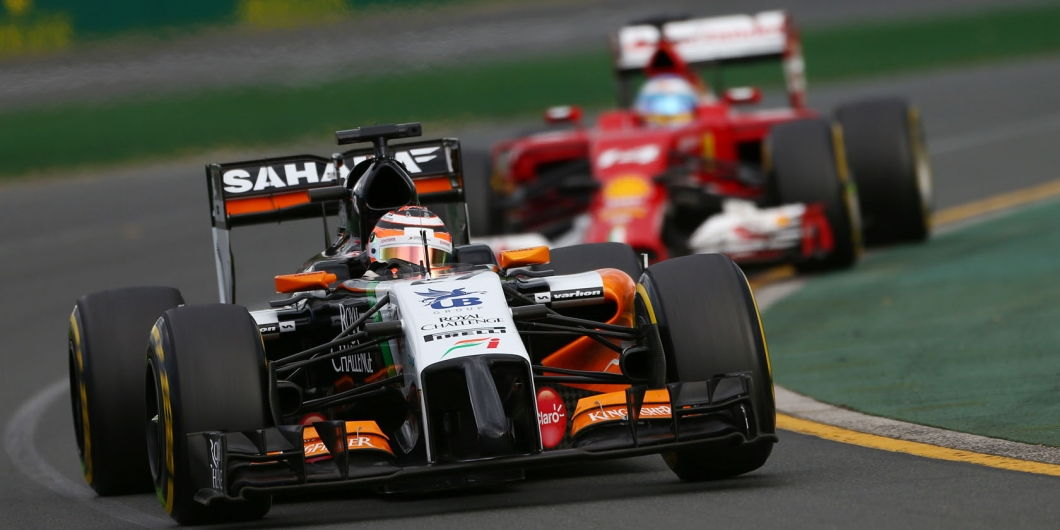 Nico Hülkenberg, Fernando Alonso, Melbourne, Australian GP, 2014