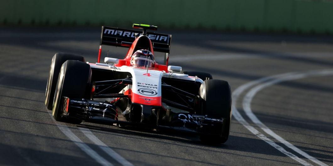 Max Chilton, Marussia-Ferrari, Melbourne, Australian GP, 2014