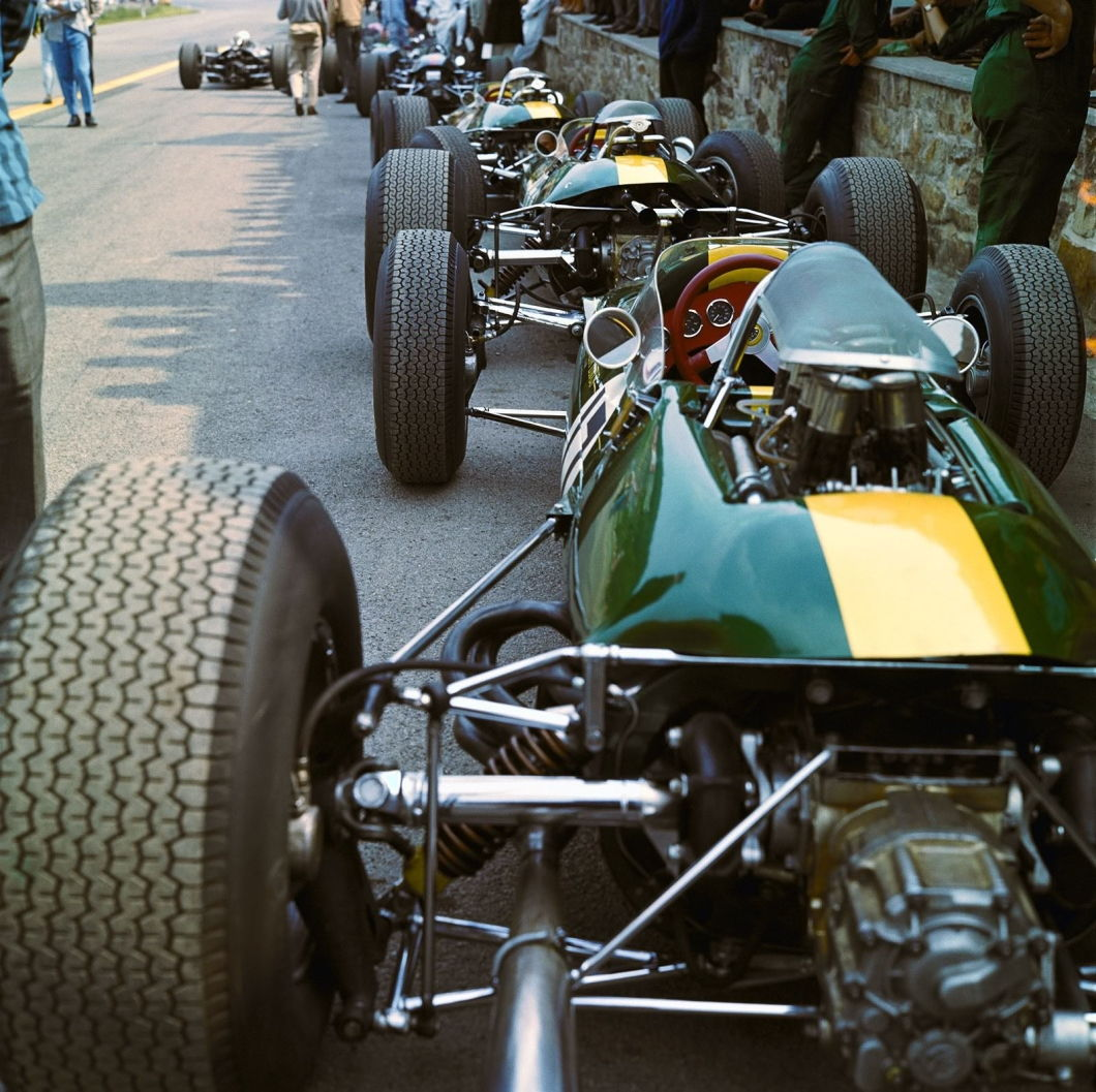 Lotus 33, 1965, Spa-Francorchamps, Belgium