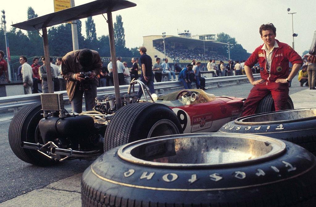 Lotus 49B, 1968, Monza, Italy