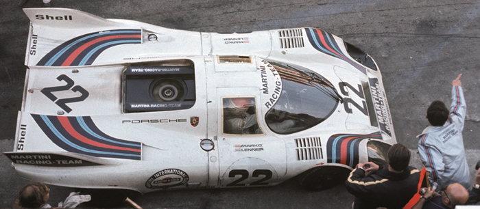 Helmut Marko, Gijs van Lennep, Porsche 917K, Le Mans, 1971