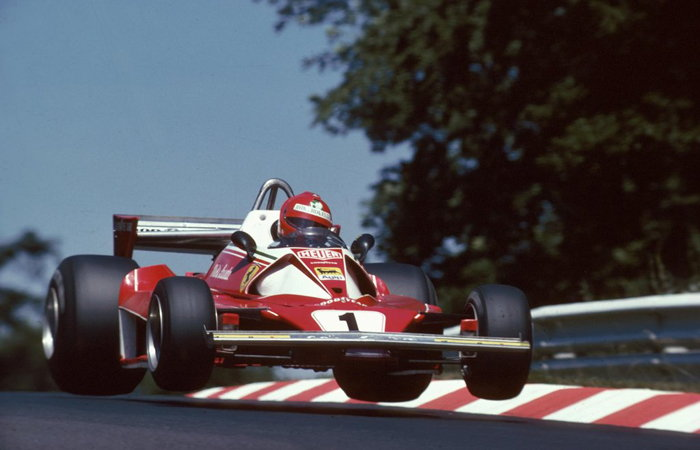 Niki Lauda, Ferrari 312T2, 1976