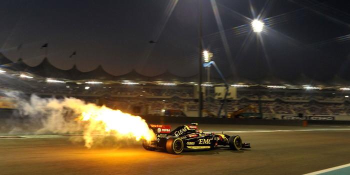 Pastor Maldonado, Abu-Dhabi Grand Prix, 2015