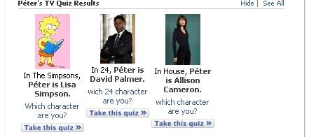 d075992bf0 Most képzeljetek el valakit, aki Lisa Simpsonból, David Palmerből és Allison  Cameronból van összegyúrva. Hát hogy nézne már az ki? Nem úgy, mint én...  :-)
